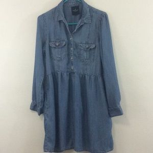 American Eagle outfitters jean dress size medium
